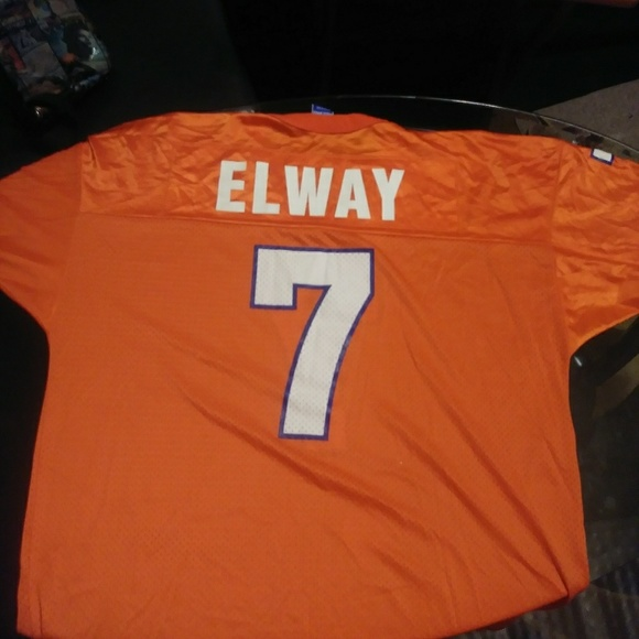 the best attitude e367d dc526 NFL Hall Of Famer John Elway Denver Broncos Jersey
